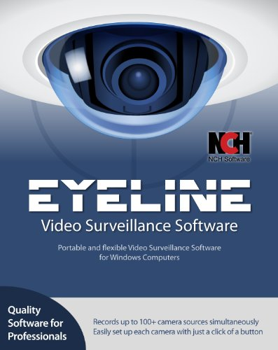 EyeLine Video Surveillance Software - Create a Multiple Webcam Security System [Download] by NCH Software