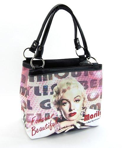 Marilyn Monroe Medium Purse Two Way Bag ()