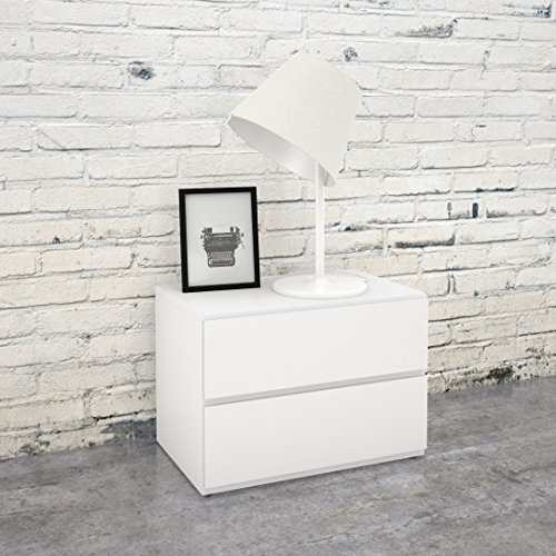 Nexera Night Stand 222203, White by Nexera