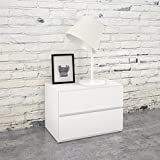 Nexera Night Stand 222203, White