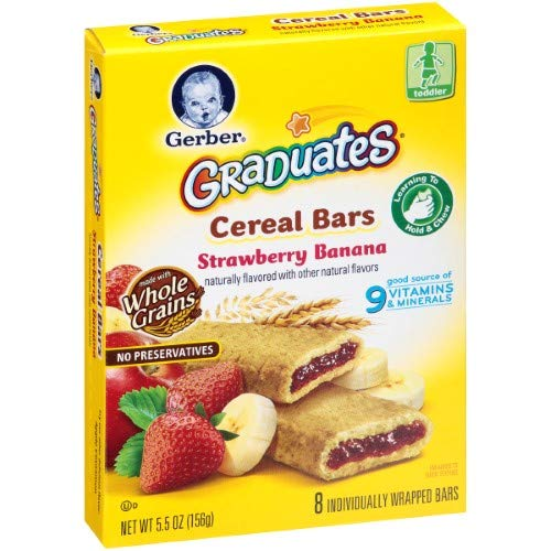 Gerber Graduates Cereal Bars (Pack of 10)