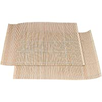 Prestige Wood Baboo Placemats, Brown [PR42201]