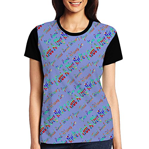 Ert Got A Dig Bick You That Read Wrong Women Digital Printing Short T-Shirt