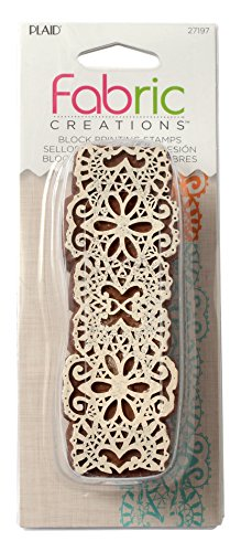 Border Stamp (Fabric Creations Block Printing Stamps, 27197 Border Lace)