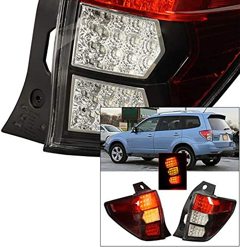 PASSENGER 2008 2009 2010 2011 2012 SUBARU FORESTER TAIL LIGHT RIGHT HAND FOR