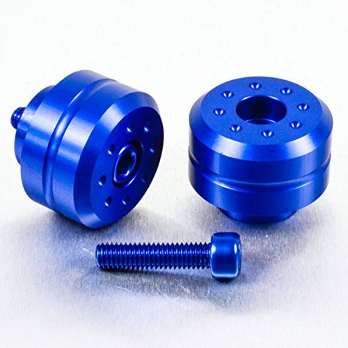 Pro-Bolt Aluminum Bar Ends Pair Blue for Yamaha FJR1300 FZ8 V-Max YZF-R1 YZF-R6