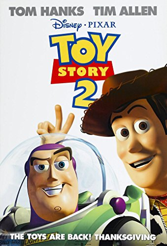 Toy Story 2 Poster - TOY STORY 2 MOVIE POSTER 2 Sided ORIGINAL 27x40 DISNEY