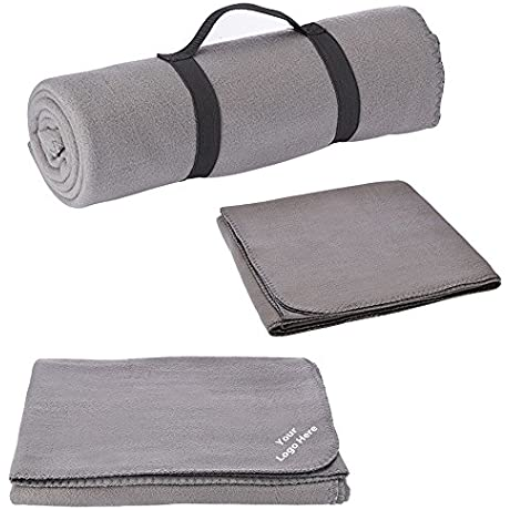 Fleece Blanket 24 Quantity 16 25 Each PROMOTIONAL PRODUCT BULK BRANDED With YOUR LOGO CUSTOMIZED