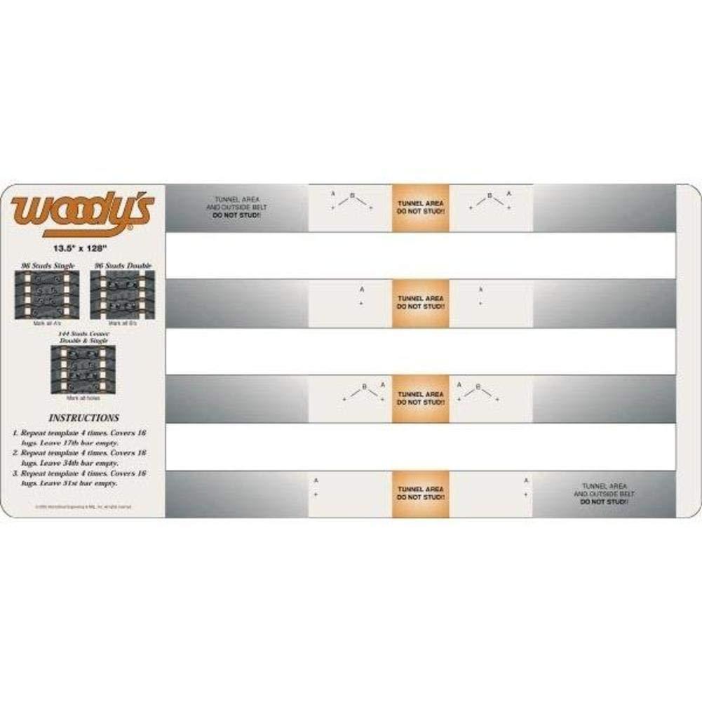 Woodys Studding Template - Universal COMB-TEMP INTERNATIONAL ENGINEERING COMBTEMP WD064