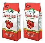 Espoma Tomato-tone Organic Fertilizer - FOR ALL YOUR TOMATOES, 4 lb. bag (2 PACK)