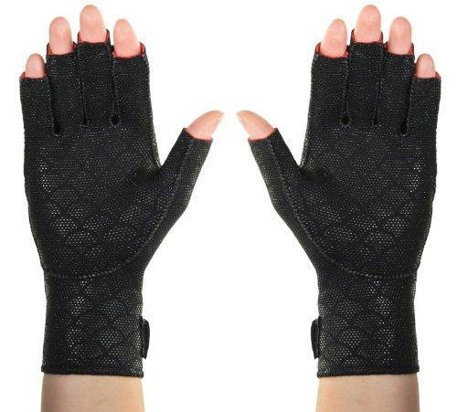 Thermoskin Premium Arthritic Gloves Pair Black Medium