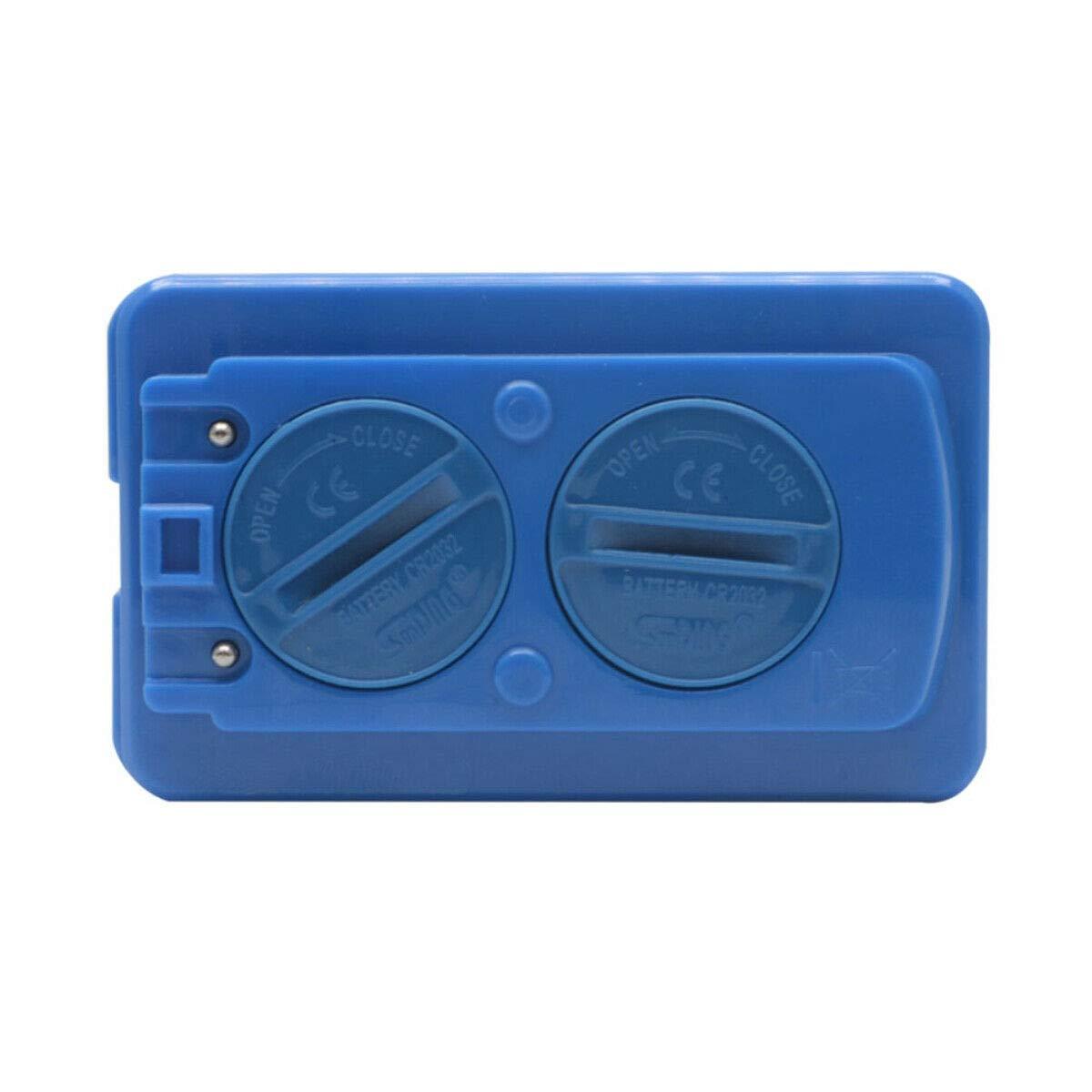 Veloc/ímetro para bicicleta con pantalla LCD retroiluminada inal/ámbrico color azul impermeable