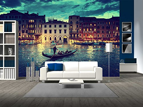 Grand Canal in Sunset Time Venice Italy