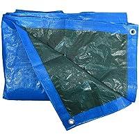 HomeMaison Bâche de Protection Étanche avec Œillets PVC Bleu 200 x 300 cm