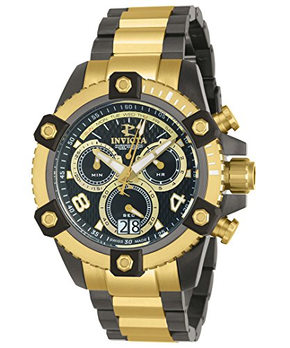 invicta-mens-reserve-swiss-quartz-stainless-steel-casual-watch-colortwo-tone-model-12983