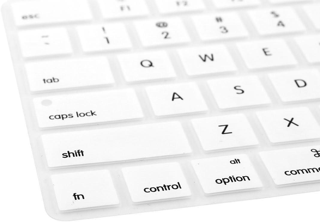 NA Silicone Anti Dust Keyboard Cover Film White for iMac Wireless Magic Keyboard