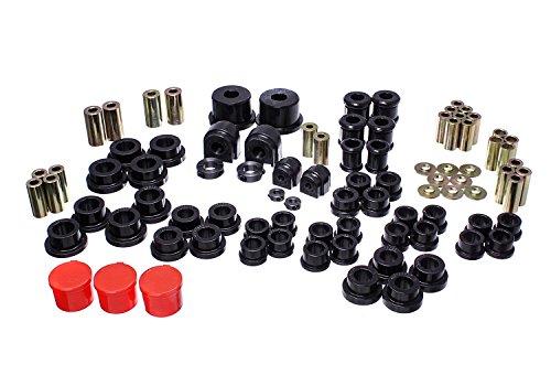 - Energy Suspension 11.18105G Hyper-Flex System Black Master Set Hyper-Flex System
