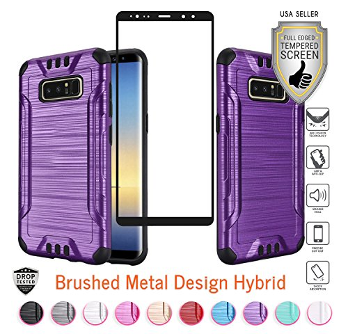 Tempered Glass Screen Protector for Samsung Galaxy Note 2 (Purple) - 4
