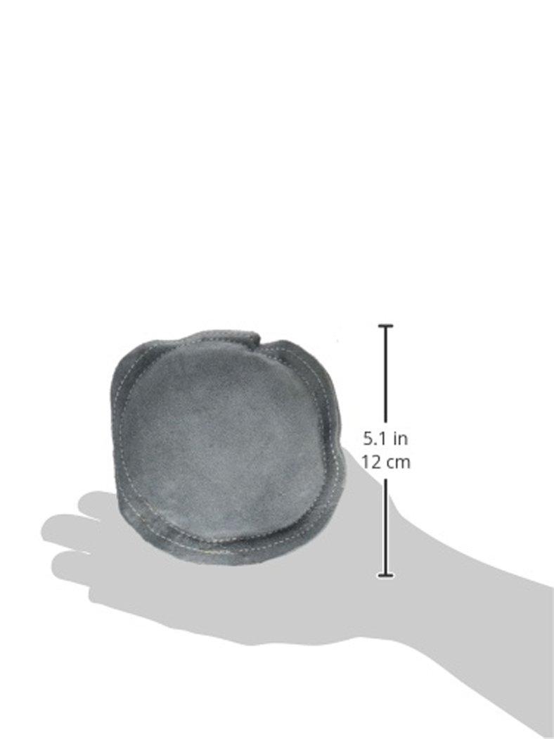 SE JT-SB56 5 Round Leather Bench Block Sand Pad Sona Enterprises