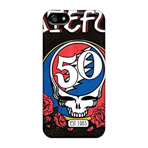 KevinCormack Iphone 5/5s Perfect Cell-phone Hard Covers Customized Vivid Grateful Dead Band Skin [ayV6327lcib]
