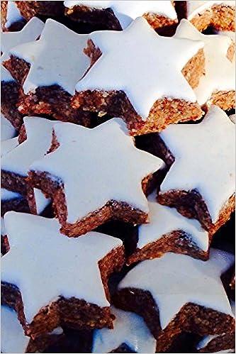 Huge Pile Of Cinnamon Star Cookies Journal Take Notes Write Down