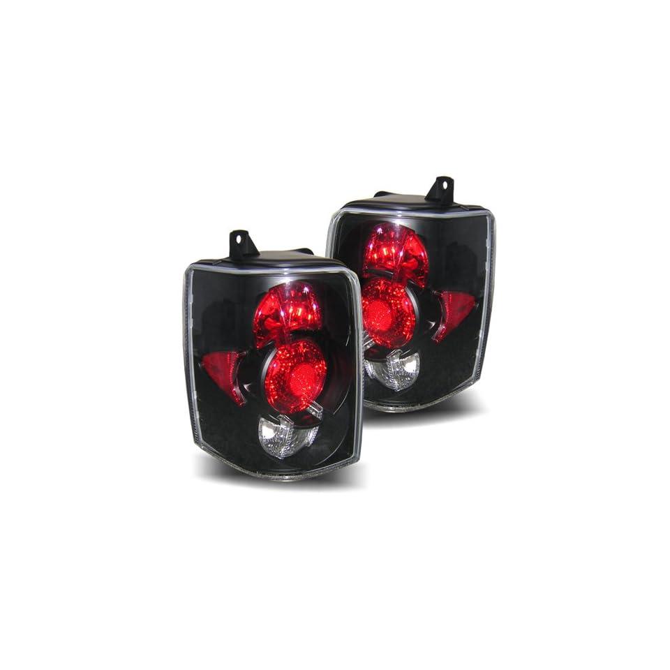 93 98 Jeep Grand Cherokee Black Tail Lights Automotive