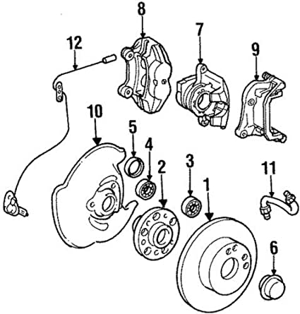 Mercedes Benz Brakes Diagram
