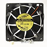 120mm 38mm New Case Fan 12VDC 200CFM PC CPU Cooling 2wire 4 Screws Ball Bearing 12038