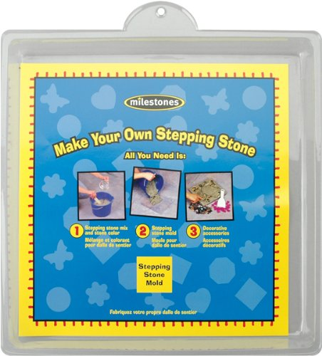 Midwest Large Square Stepping Stone Mold, 11-Inch