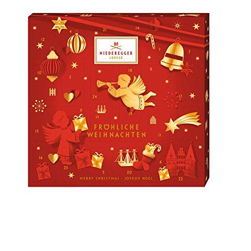 Niederegger Marzipan Mini Glamour Advent Calendar 168g / 6 Oz NEW