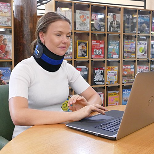 ComfyMed Neck Brace CM-NB18 Cervical Neck Support Collar for Men and Women (LGE 15'' to 18'') by ComfyMed (Image #4)