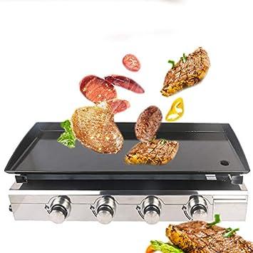 GW Nuevo Gas BBQ Grill 4 quemadores Griddle de Acero ...