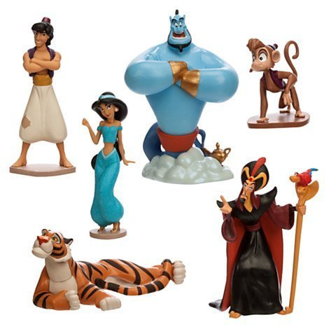 Disney Store Aladdin Figure Play Set