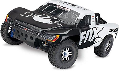 Traxxas 68077-24 1/10 Slash 4X4 Ultimate TSM OBA TQi Fox Vehicle (The X 4 4 Ultimate)