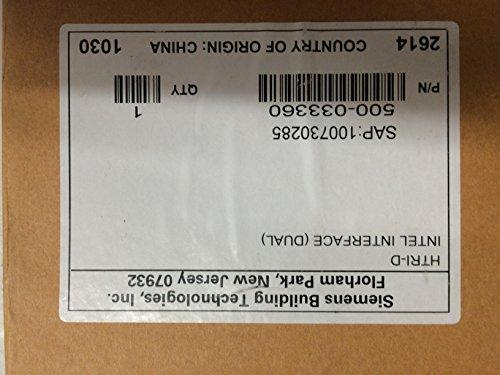 Siemens HTRI-D - Dual Input Module W/ Supervision (Alarm Fire Siemens)
