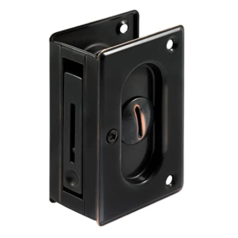 privacy pocket door hardware. Prime-Line Products N 7368 Pocket Door Privacy Lock With Pull, 3-3 Hardware