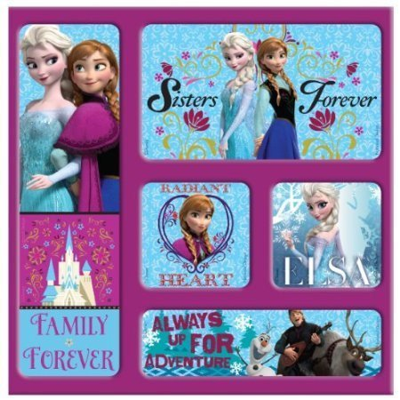 [National Design Disney Frozen Magnet Memories in Film Bag (5-Pack)] (Sven Costume For Boys)
