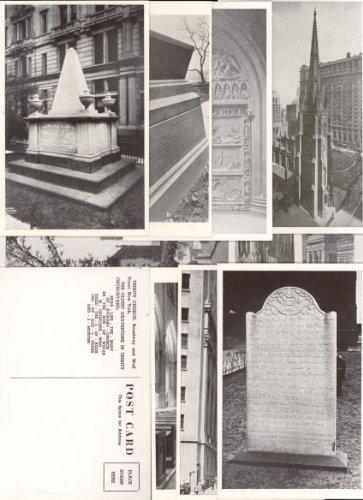 Trinity Church (New York City) 1954 Postcard Set (11 cards)