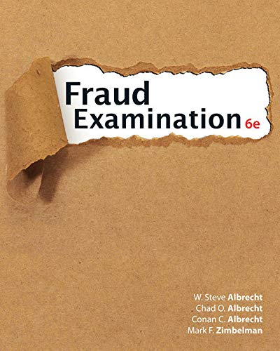 Bundle: Fraud Examination, Loose-leaf Version, 6th + MindTap Accounting, 1 term (6 months) Printed Access Card