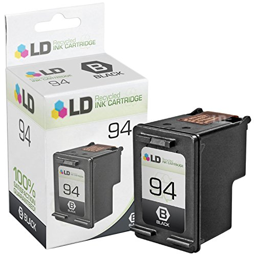 LD Remanufactured Replacement Ink Cartridge for Hewlett Packard C8765WN (HP 94) Black -