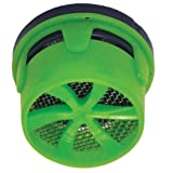 Danco 10496 1.0 Gpm Dual Thread Extra-Water-Saving Aerator Insert, Green