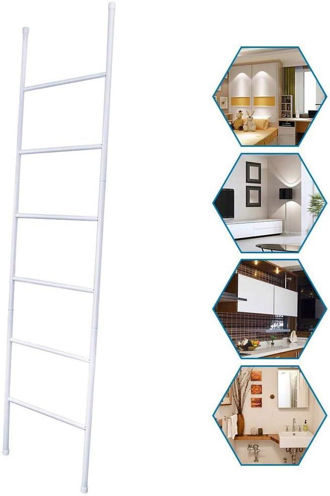 Wing Escalera de Metal para Mantas, toallero de Escalera, toallero de estantes, Bufandas, Soporte de Pared para Secado de Ropa, 6 Niveles, 170 cm de Alto: Amazon.es: Hogar