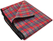 Grizzly Peak Scam-1 All-Purpose Lightweight Camping Blanket, Waterproof and Quick-Drying by 51-Inch