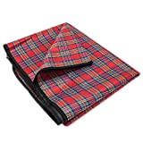 All-Purpose Lightweight Camping Blanket, Waterproof and Quick-Drying by Grizzly Peak (71 Inches)
