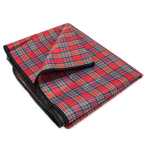 Grizzly Peak All-Purpose Lightweight Camping Blanket, Waterproof and Quick-Drying (78 Inches)