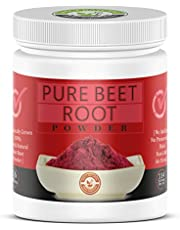 100% Pure Beet Root Powder (1 Lb) 16 Oz, Raw & Non-GMO,High Betalains and Inorganic Nitrate,Organically grown in Himalayan hills