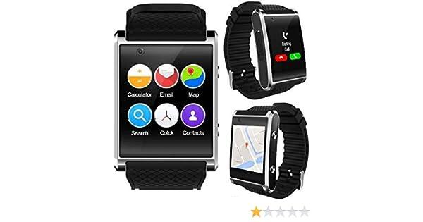 Amazon.com: Indigi New 2019 3G Android 5.1 Smart Watch Phone ...