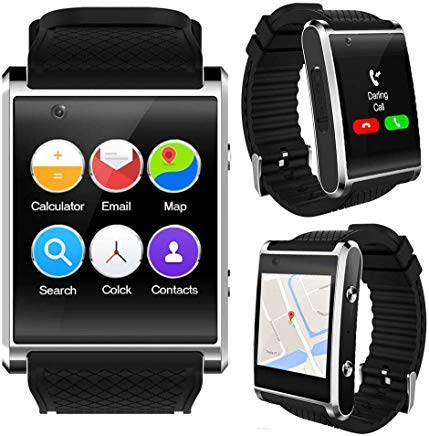 Amazon.com: Indigi New 2019 3G Android 5.1 Smart Watch Phone ...