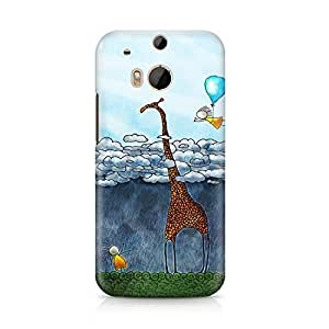 Animal Hard Plastic Snap-On Case For HTC One M8