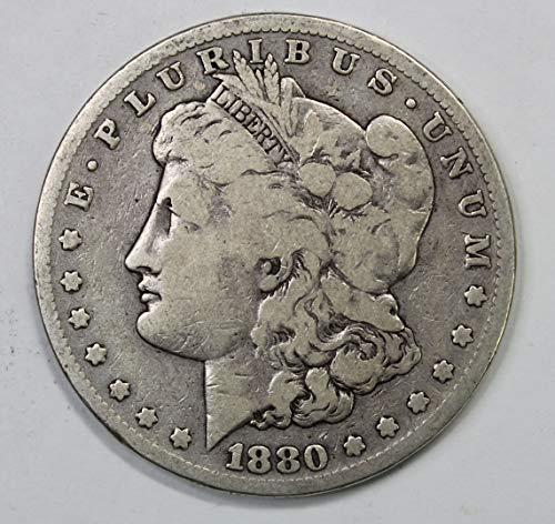 1880 S Morgan Silver Dollar $1 Very ()